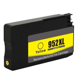 Remanufactured HP L0S67AN (HP 952XL ink) high quality inkjet cartridge - high capacity yellow