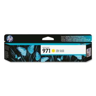 Original Hewlett Packard (HP) CN624AM (HP 971 ink) high quality inkjet cartridge - yellow
