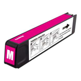 Premium ink cartridge replacement for HP 971XL - high yield magenta - Made in the USA