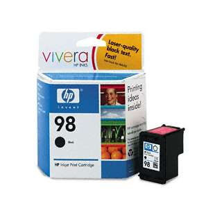 Original Hewlett Packard (HP) C9364WN (HP 98 ink) high quality inkjet cartridge - black cartridge