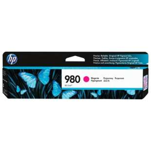 Original Hewlett Packard (HP) D8J08A (HP 980 ink) high quality inkjet cartridge - magenta
