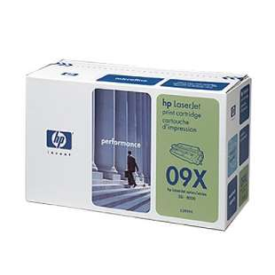 Original Hewlett Packard (HP) C3909X (09X) toner cartridge - high capacity black