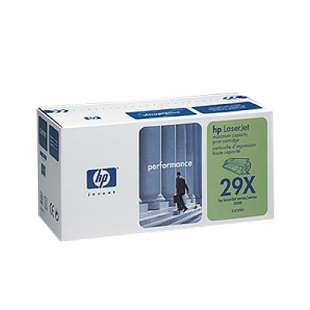 Original Hewlett Packard (HP) C4129X (29X) toner cartridge - high capacity black