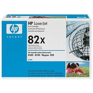 Original Hewlett Packard (HP) C4182X (82X) toner cartridge - high capacity black