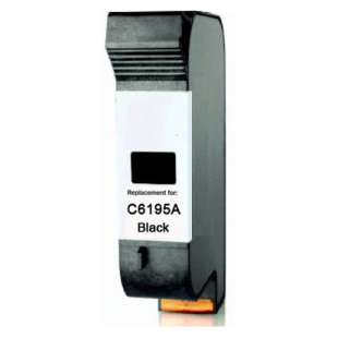 Remanufactured HP C6195A high quality inkjet cartridge - black cartridge