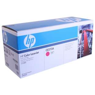 Original Hewlett Packard (HP) CE273A (650A) toner cartridge - magenta