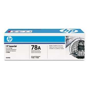Original Hewlett Packard (HP) CE278A (78A) toner cartridge - black cartridge