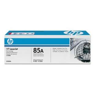 Original Hewlett Packard (HP) CE285A (85A) toner cartridge - black cartridge