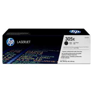 Original Hewlett Packard (HP) CE410X (305X) toner cartridge - high capacity black