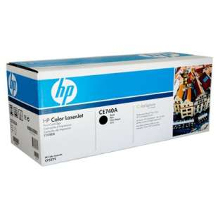 Original Hewlett Packard (HP) CE740A (307A) toner cartridge - black cartridge