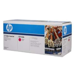 Original Hewlett Packard (HP) CE743A (307A) toner cartridge - magenta