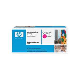 Original Hewlett Packard (HP) Q6003A (124A) toner cartridge - magenta