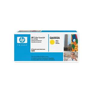 Original Hewlett Packard (HP) Q6002A (124A) toner cartridge - yellow