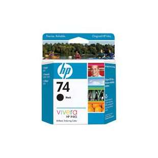 Original Hewlett Packard (HP) CB335WN (HP 74 ink) high quality inkjet cartridge - black cartridge