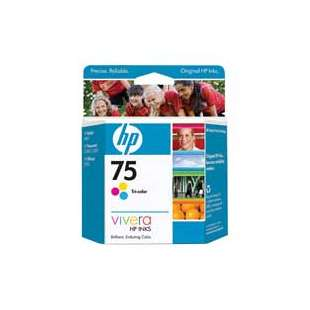Original Hewlett Packard (HP) CB337WN (HP 75 ink) high quality inkjet cartridge - color cartridge