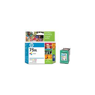 Original Hewlett Packard (HP) CB338WN (HP 75XL ink) high quality inkjet cartridge - high capacity color
