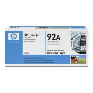 Original Hewlett Packard (HP) C4092A (92A) toner cartridge - black cartridge