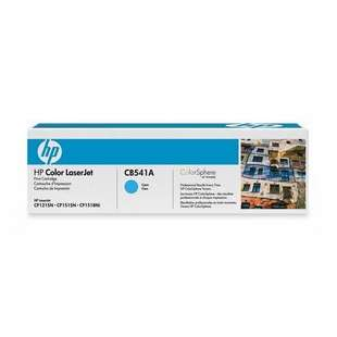 Original Hewlett Packard (HP) CB541A (125A) toner cartridge - cyan