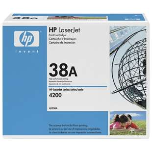 Original Hewlett Packard (HP) Q1338A (38A) toner cartridge - black cartridge