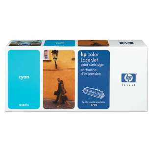 Original Hewlett Packard (HP) Q2681A (311A) toner cartridge - cyan