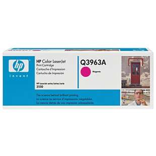 Original Hewlett Packard (HP) Q3963A (122A) toner cartridge - magenta