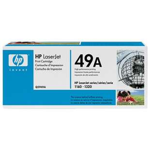 Original Hewlett Packard (HP) Q5949A (49A) toner cartridge - black cartridge