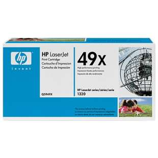 Original Hewlett Packard (HP) Q5949X (49X) toner cartridge - high capacity black