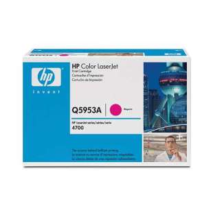 Original Hewlett Packard (HP) Q5953A (643A) toner cartridge - magenta