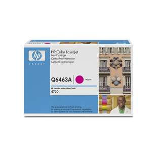 Original Hewlett Packard (HP) Q6463A (644A) toner cartridge - magenta