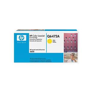 Original Hewlett Packard (HP) Q6472A (502A) toner cartridge - yellow