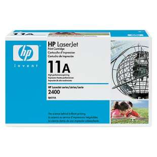 Original Hewlett Packard (HP) Q6511A (11A) toner cartridge - black cartridge