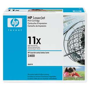 Original Hewlett Packard (HP) Q6511X (11X) toner cartridge - high capacity black