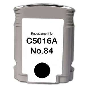Remanufactured HP C5016A (HP 84 ink) high quality inkjet cartridge - black cartridge