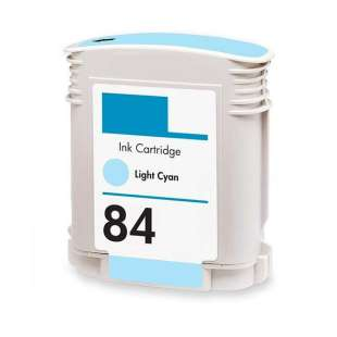 Remanufactured HP C5017A (HP 84 ink) high quality inkjet cartridge - light cyan