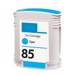 Remanufactured HP 85 high quality inkjet cartridge - cyan