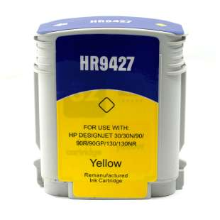 Remanufactured HP 85 high quality inkjet cartridge - yellow