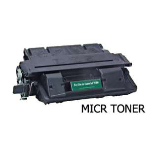Compatible for HP C4127X (27X) toner cartridge - high capacity MICR black