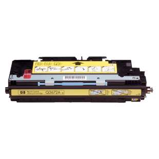 Compatible for HP Q2672A (309A) toner cartridge - yellow
