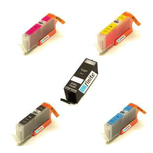 INKfinite Compatible Cartridges Multipack for Canon PGI-250XL / CLI-251XL - 5 pack
