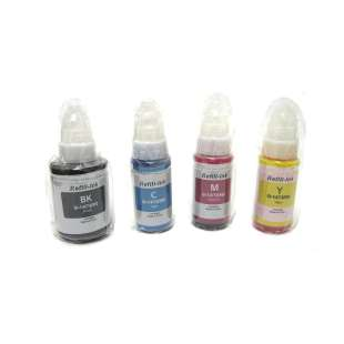 Durafirm Ink Refill Kit guaranteed compatible for the Canon Pixma G1200 / G2200 / G3200 / G4200