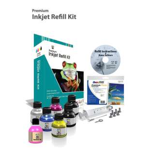 Durafirm Ink Refill Kit guaranteed compatible for the Kodak #10