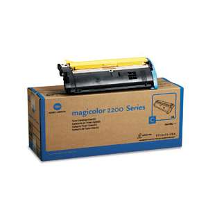 Original Konica Minolta 1710471-004 toner cartridge - cyan