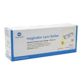 Original Konica Minolta 1710587-001 toner cartridge - yellow