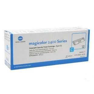 Original Konica Minolta 1710587-003 toner cartridge - cyan