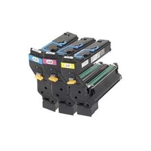 Original Konica Minolta 1710602-006 / 1710602-007 / 1710602-008 toner cartridges - 3-pack