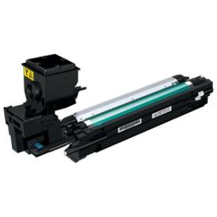 Compatible Konica Minolta A0WG07F toner cartridge - high capacity yellow