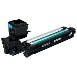 Compatible Konica Minolta A0WG0JF toner cartridge - high capacity cyan