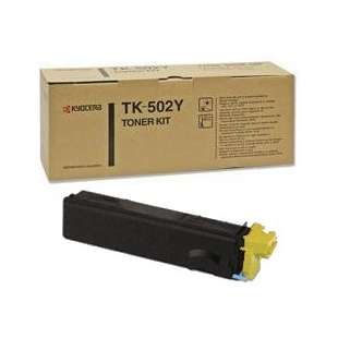Original Kyocera Mita TK-502Y toner cartridge - yellow