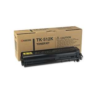 Original Kyocera Mita TK-512K toner cartridge - black cartridge