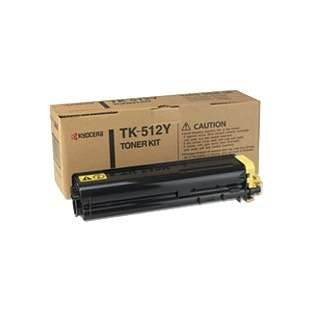 Original Kyocera Mita TK-512Y toner cartridge - yellow